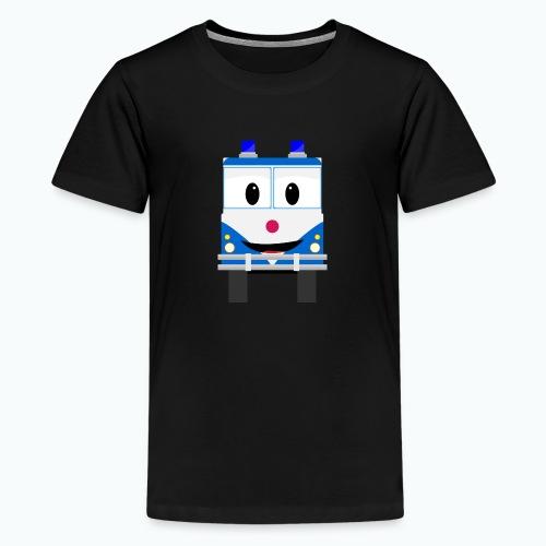 Bobo Police - Appelsin - Premium-T-shirt tonåring