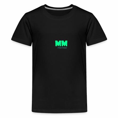 MattMonster Signature logo - Teenage Premium T-Shirt