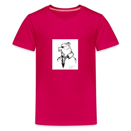 InkedThe Dog style bak LI - Camiseta premium adolescente