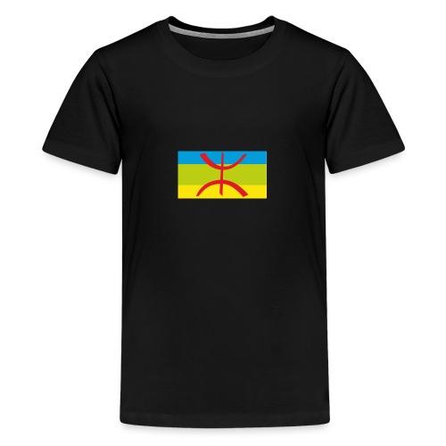 drapeau berbere tamazgha - T-shirt Premium Ado