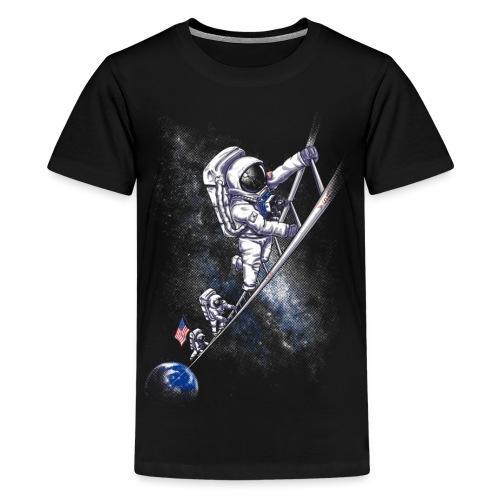 July 1969 spaceman - Teenage Premium T-Shirt