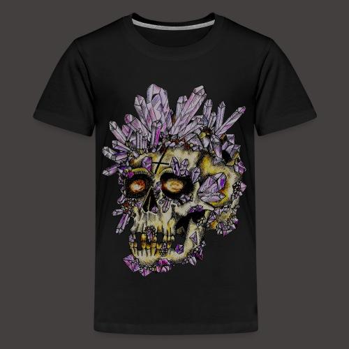 Le Crane de Cristal Creepy - T-shirt Premium Ado