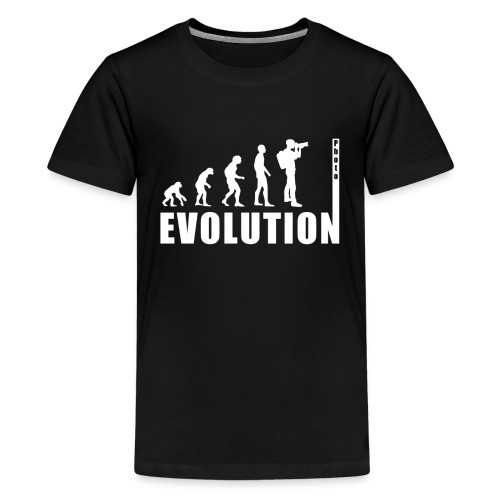 EVOLUTION PHOTOGRAPH - Teenager Premium T-Shirt