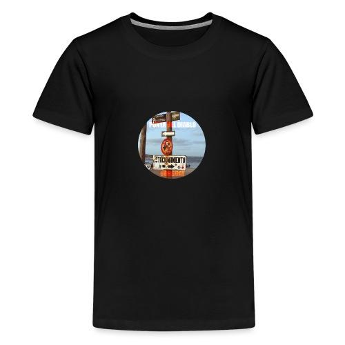 Punta del diablo Uruguay - Camiseta premium adolescente