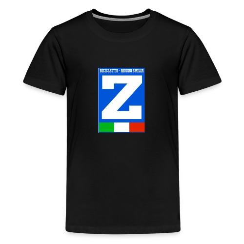 LOGO Zaccheo biciclette - Maglietta Premium per ragazzi