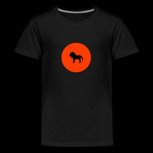 AK Exclusive Logo - Teenage Premium T-Shirt