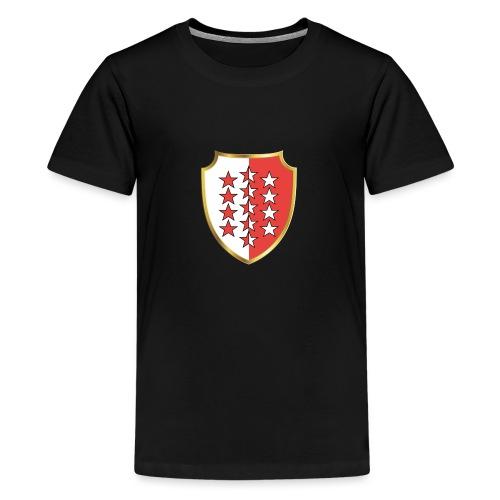 Valais Wallis Gold Or - Teenager Premium T-Shirt