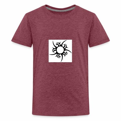 tribal sun - Teenage Premium T-Shirt