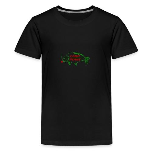Carp Point new1 small - Teenager Premium T-Shirt