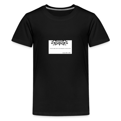 Socrates saying - Teenage Premium T-Shirt