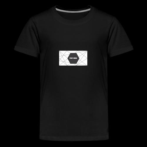 STAY MEGA LINES - Teenage Premium T-Shirt
