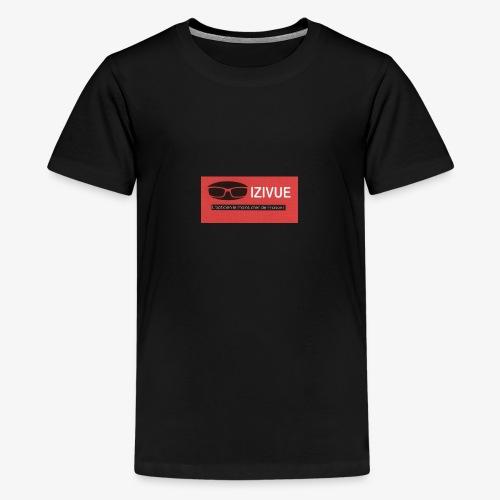 LOGO IZIVUE - T-shirt Premium Ado