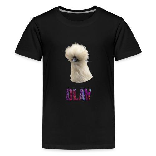 Olav 2 - Premium T-skjorte for tenåringer