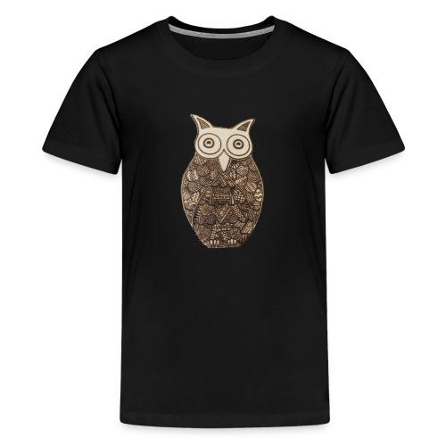 Pyro Owl - Teenage Premium T-Shirt