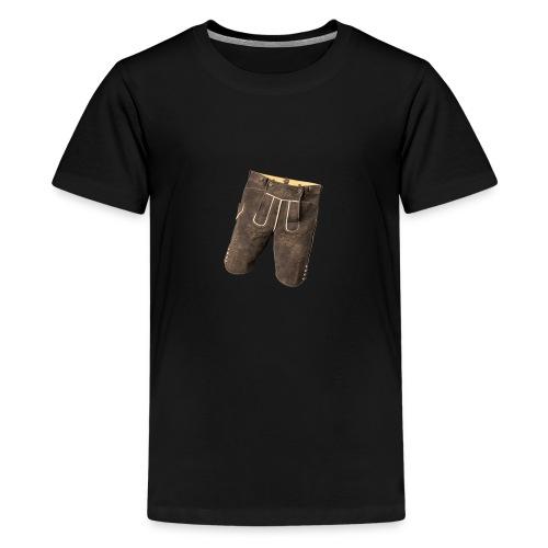 Lederhose - Teenager Premium T-Shirt