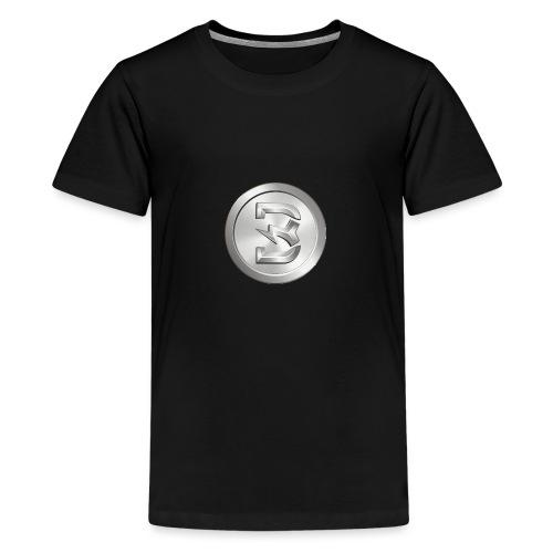 Burst Silver - Teenager Premium T-shirt