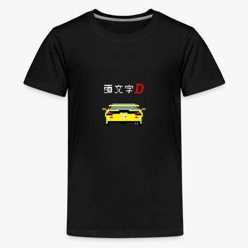 initial d - FD - T-shirt Premium Ado