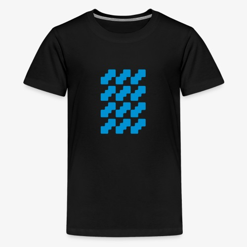 Fluid logo - Maglietta Premium per ragazzi