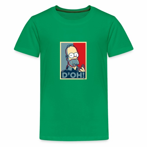 Homer Donuts - T-shirt Premium Ado