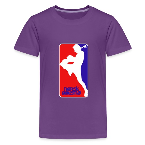 norsk boksing - Teenage Premium T-Shirt