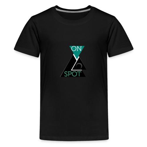 ON SPOT LOGO - Teenager Premium T-Shirt