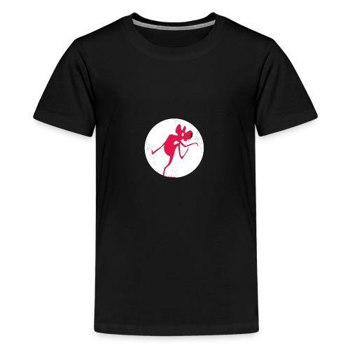 Rat prenant la poudre d'escampette - T-shirt Premium Ado