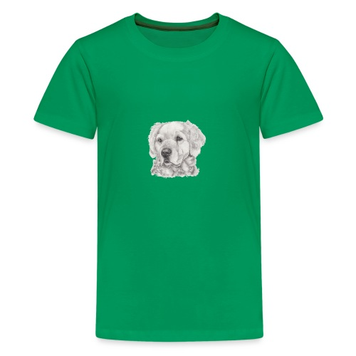 golden retriever - Teenager premium T-shirt
