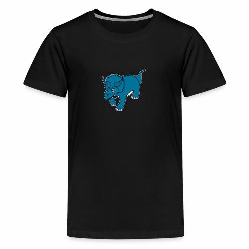 Triceratops - T-shirt Premium Ado