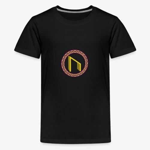 Uruz im Kreis - Teenager Premium T-Shirt