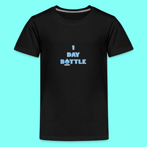 1 Day Bottle - Premium T-skjorte for tenåringer
