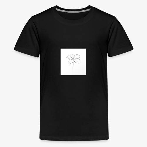 Flower - Teenager premium T-shirt