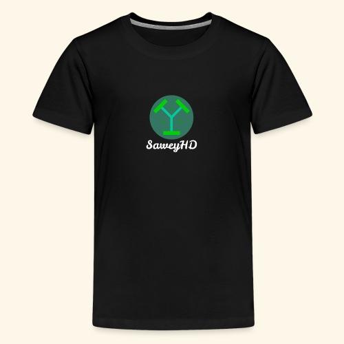 SaweyHD Schwarz - Teenager Premium T-Shirt