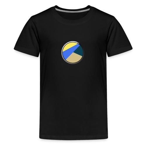 Travel Life 5.png - Premium T-skjorte for tenåringer