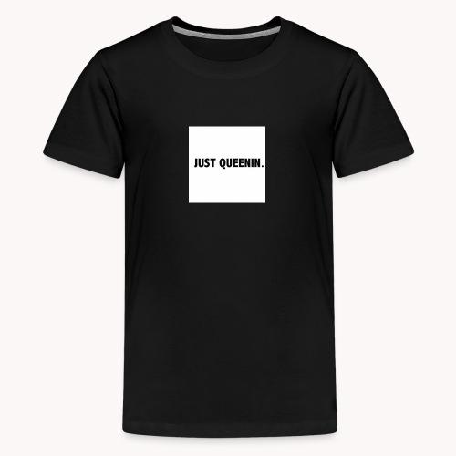 Queenin - Premium-T-shirt tonåring