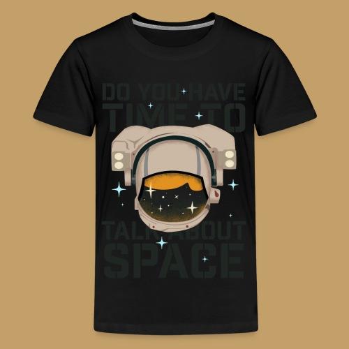 Time for Space - Koszulka młodzieżowa Premium