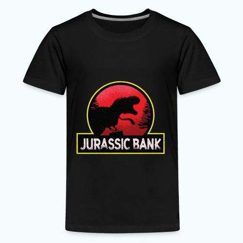 Jurassic Bank Bankster - Teenage Premium T-Shirt