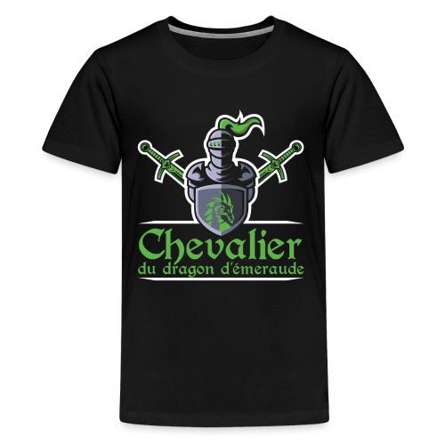 Chevalier du dragon d émeraude - T-shirt Premium Ado
