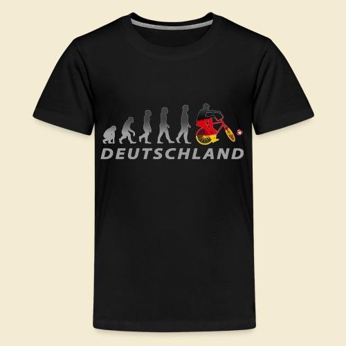 Radball | Evolution Deutschland - Teenager Premium T-Shirt