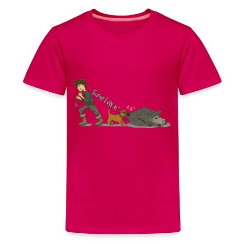 Hundeführer - Teenager Premium T-Shirt