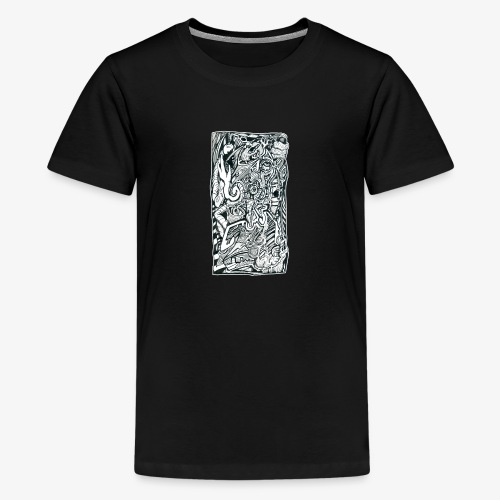 Anxiety Trip - Teenage Premium T-Shirt