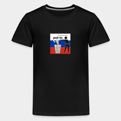 GHB Put in for recycling 190320181 - Teenager Premium T-Shirt