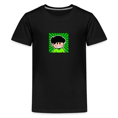Linus e lite mindre glad - Premium-T-shirt tonåring