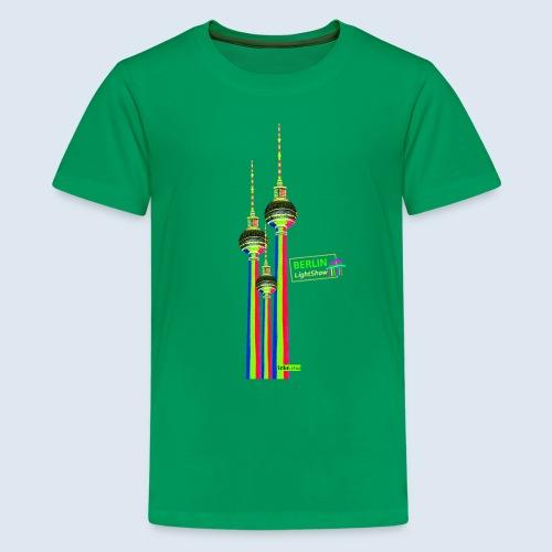 "Berliner Original ""Fernsehturm III"" PopArt Design - Teenager Premium T-Shirt"