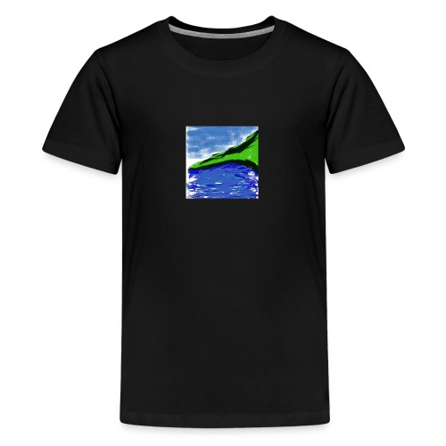 SEA AND MOUNTAIN - T-shirt Premium Ado