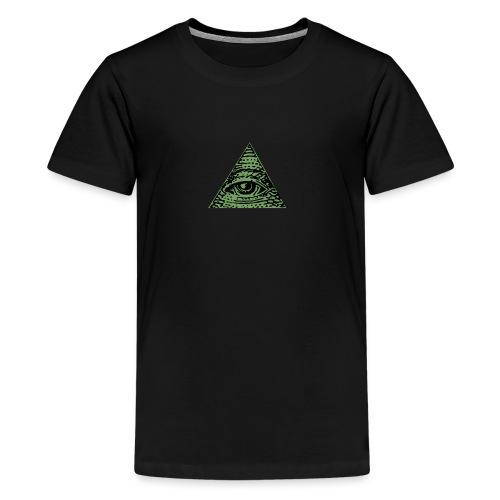 Iluminati - T-shirt Premium Ado