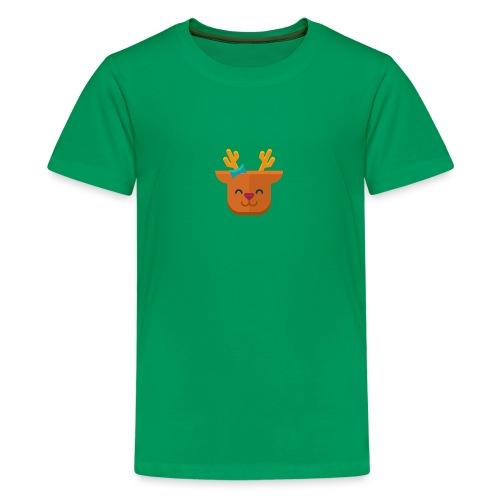 When Deers Smile by EmilyLife® - Teenage Premium T-Shirt