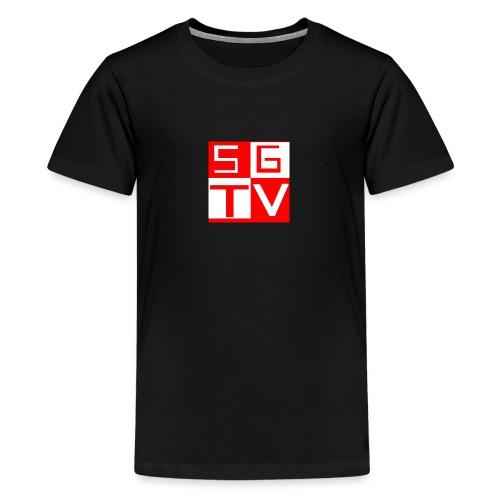 SGTV - Teenage Premium T-Shirt
