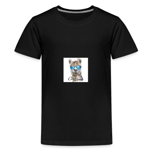 Cool Lama - Teenager Premium T-Shirt