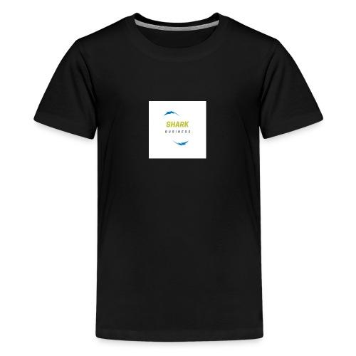 LOGO SHARK BUSINESS - Camiseta premium adolescente