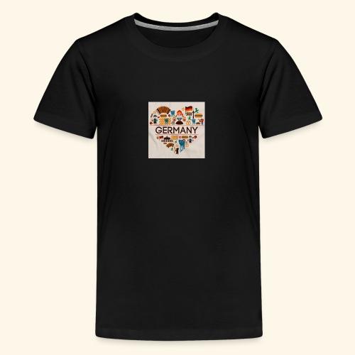 Deutschland - T-shirt Premium Ado